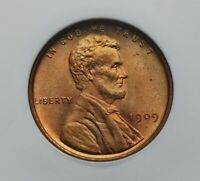 1909 LINCOLN CENT NGC MS 65 RD