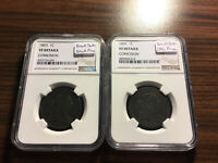 1803 SMALL DATE SMALL FRACTION & LARGE FRACTION DRAPED BUST CENT SET NGC GENUINE