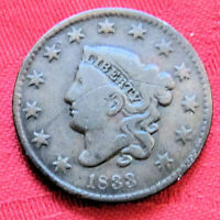 1833 US COIN LIBERTY HEAD WITH