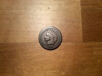 1876 INDIAN HEAD CENT PENNY, GOOD 4511