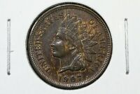 1907 INDIAN HEAD CENT BROWN UNC.