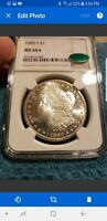 1880 S MORGAN NGC MINT STATE 66 STAR CAC MOST INCREDIBLE DMPL OBV ULTRA DEEP MIRRORS$$