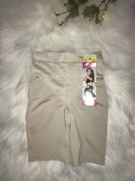 Maidenform 12428 Control It Shiny Convertible Full Slip XL X-LARGE Nude NWT