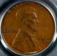 1914-D LINCOLN CENT PCGS EXTRA FINE 40