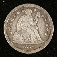 1859-S SEATED DIME