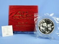 CHINA 12 OZ 999 SILBER 1997  PANDA  MUNICH COIN SHOW  OVP