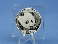 CHINA  10 YUAN 2018 PANDA BR  30 GRAMM 999 AG/SILBER IN  ST.