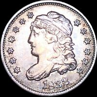1832 CAPPED BUST HALF DIME LIGHTLY CIRCULATED PHILADELPHIA 5