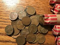 1 ROLL 1934 P SOLID DATE LINCOLN WHEAT CENT PENNY CIRCULATED 5 AVAILABLE