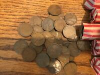 1935 P FULL 50 ROLL CIRCULATED WHEAT CENT CENT  4 LOT AVAILABLE COMBINE SHIP