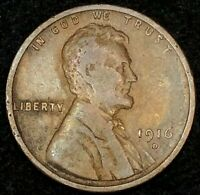 1916-D LINCOLN WHEAT CENT