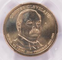 PCGS  2012  GROVER CLEVELAND DOLLAR MISSING EDGE LETTERING M