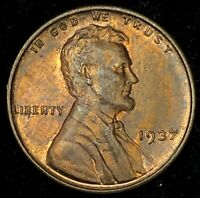 1937 LINCOLN WHEAT CENT