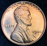 1945 LINCOLN WHEAT CENT