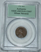 1926-P WHEAT CENT PCGS SAMPLE ORIGINAL GREEN HOLDER