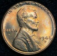 1948-D LINCOLN WHEAT CENT