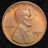 1949-S LINCOLN WHEAT CENT