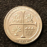 2019 W  SAN ANTONIO MISSIONS QUARTER BU MINT UNCIRCULATED 8