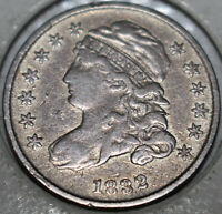 1832-P CAPPED BUST DIME [SN02]