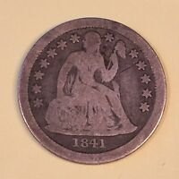 1841-O SEATED DIME - HIGH QUALITY SCANS C496