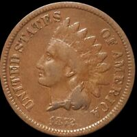 1872 INDIAN HEAD NICKEL NICELY CIRCULATED HIGH END PHILADELP