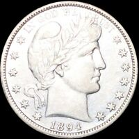 1894 O BARBER HALF DOLLAR APPEARS UNCIRCULATED NEW ORLEANS MS BU 50C SILVER COIN