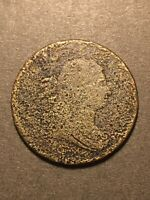 1804 DRAPED BUST HALF CENT COLLECTIBLE FILLER TYPE COIN CORR