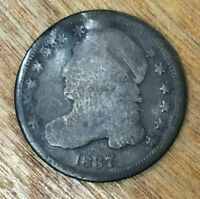 1837 BUST DIME   BIDDING STARTS AT .99 CENTS AND