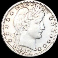 1902 S BARBER QUARTER NEARLY UNCIRCULATED HIGH END SAN FRANC