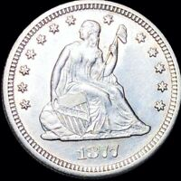 1877 S SEATED QUARTER HIGHLY UNCIRCULATED SAN FRANCISCO MS B
