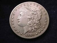 1884-S MORGAN DOLLAR SUPERIOR KEY DATE COIN    3
