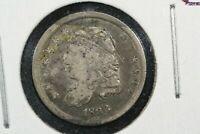1836 CAPPED BUST HALF DIME,  GOOD