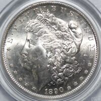1890-S MORGAN SILVER DOLLAR PCGS MINT STATE 64