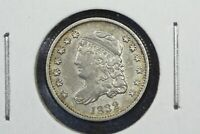 1832 CAPPED BUST HALF DIME, EXTRA FINE