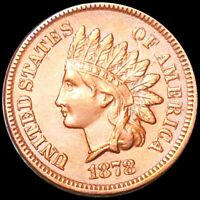 1878 INDIAN HEAD PENNY APPEARS UNCIRCULATED PHILLY MS BU SHI