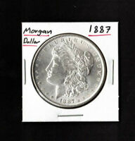 1887 $1MORGAN SILVER DOLLAR