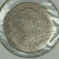 1830 CAPPED BUST 1/2 DIME GOOD