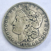 1878 7 TAIL FEATHERS,  MORGAN DOLLAR.  - 113B