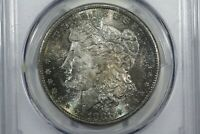 1881-S MORGAN DOLLAR, PCGS MINT STATE 65,  COLOR