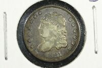 1831 CAPPED BUST HALF DIME,  FINE