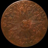 1783 NOVA CONSTELLATIO COLONIAL ERA COPPER COIN RARE NICE HI