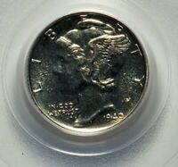 1940 MERCURY DIME SUPER GEM PROOF PCGS PR 66