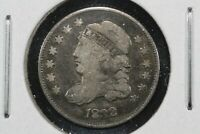 1832 CAPPED BUST HALF DIME, FINE