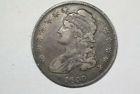 1836 CAPPED BUST HALF O 107 R4 CHOICE VF