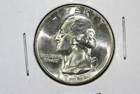 1955 WASHINGTON QUARTER NEAR GEM BU