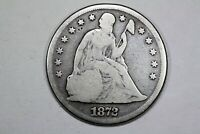 1872 LIBERTY SEATED DOLLAR GOOD