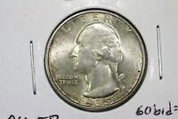 1935 S WASHINGTON QUARTER SLIDER BU