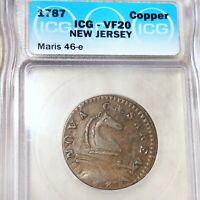 1787 NEW JERSEY COPPER