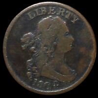1804 DRAPED BUST HALF CENT NICELY CIRCULATED PHILLY KEY DATE