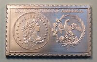 1796 UNITED STATES 1/2 HALF DOLLAR NUMISTAMP MEDAL COIN 1976 MORT REED LIMITED